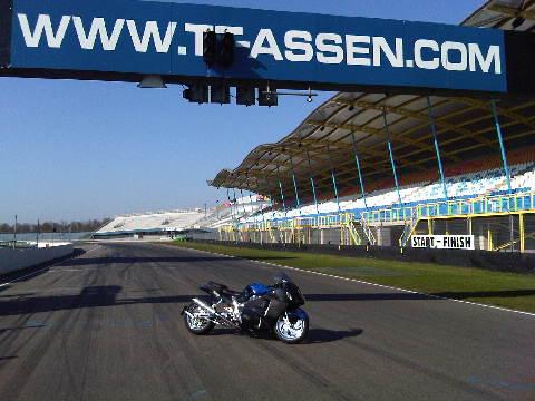 Custom Carbon-Blauw-Kevlar verchroomde hayabusa Custom SportBikes Nederland  (4)