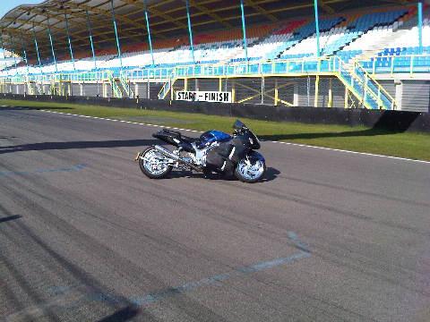 Custom Carbon-Blauw-Kevlar verchroomde hayabusa Custom SportBikes Nederland  (5)