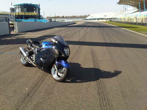 Custom Carbon-Blauw-Kevlar verchroomde hayabusa Custom SportBikes Nederland  (7)