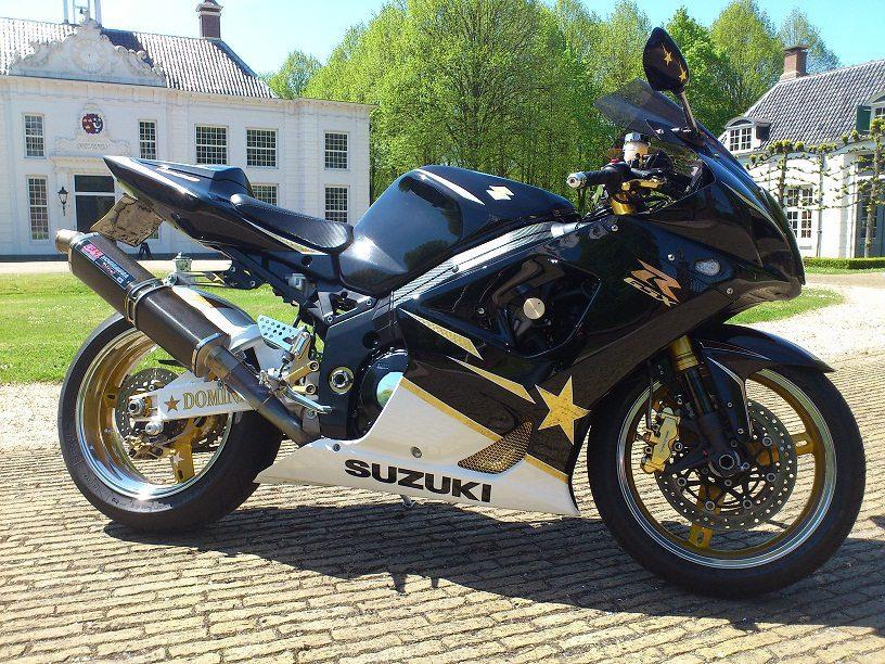 Custom GSX-R1000 K3 24K Gold CSB NL