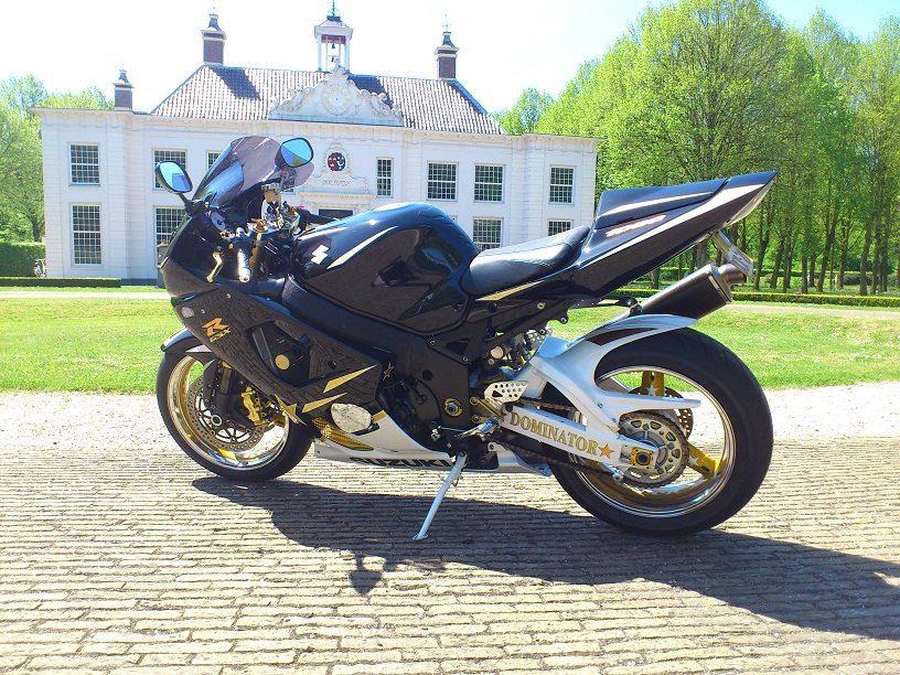 Custom GSX-R1000 K3 24K Gold Custom SportBikes Nederland