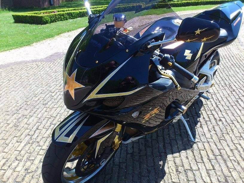 Custom GSX-R1000 K3 24K Gold Plated customsportbikes nederland