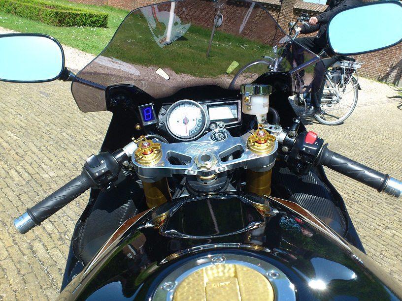 Custom GSX-R1000 K3 24K Gold plated CSB NL