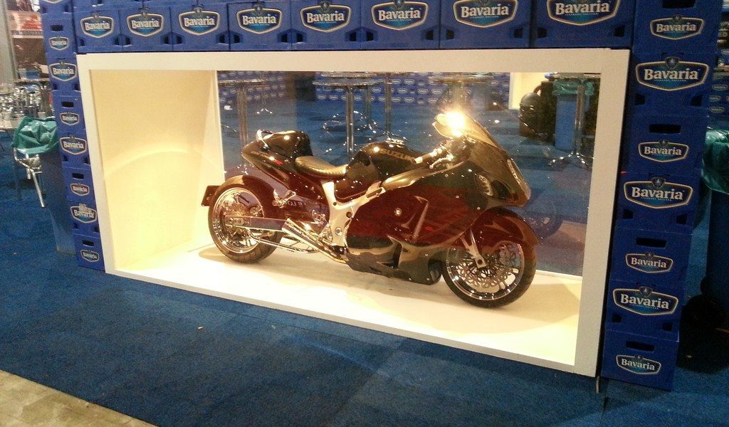 Custom Hayabusa`s Bavaria Display