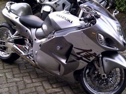 Suzuki GSX1300R Hayabusa Chromed Out